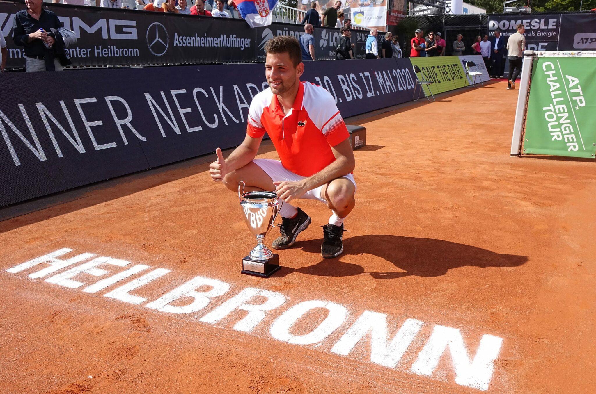 Filip Krajinovic Sieger 1